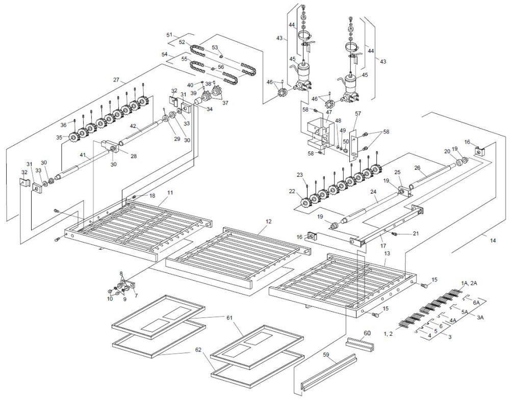 medium resolution of ps360ewb 1 3 2 3 split belt conveyor