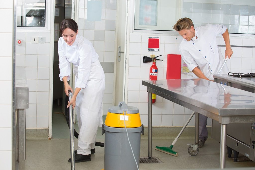 cleaning kitchen floors wall tile how to clean a commercial thoroughly parts town