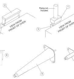 blodgett dfg 100 parts diagram parts townoven piping diagram 10 [ 986 x 803 Pixel ]