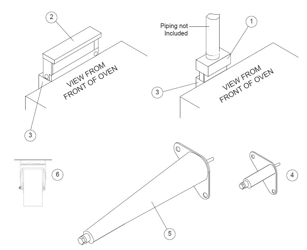 medium resolution of blodgett dfg 100 parts diagram parts townoven piping diagram 10