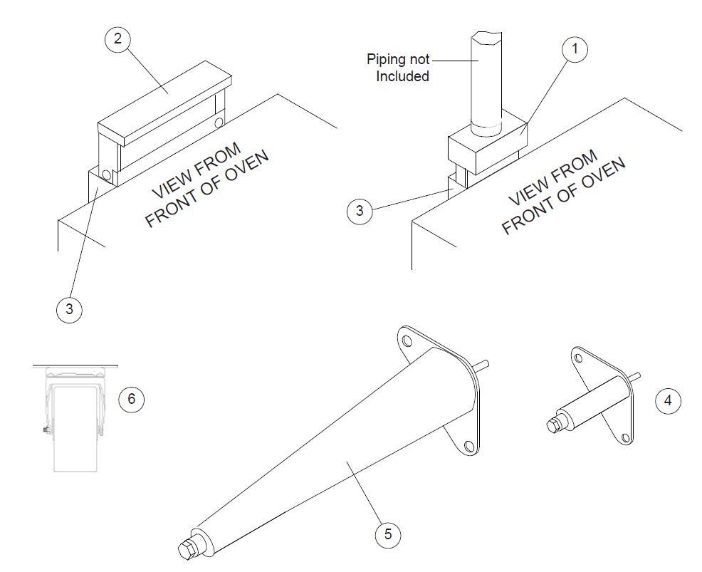 hight resolution of blodgett dfg 100 parts diagram parts townoven piping diagram 10