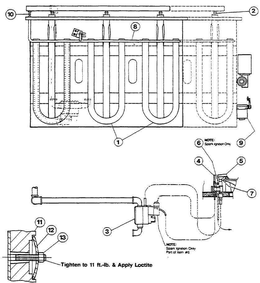 Loctite Drawing Note