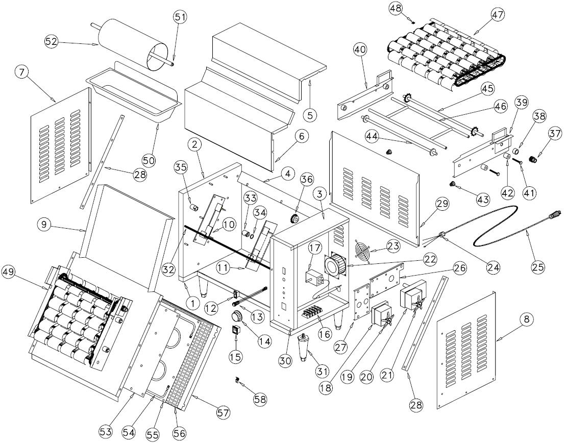 Wiring Diagram For A Toaster