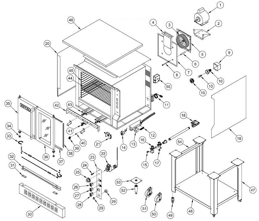 refrigerator wiring diagram symbols explained