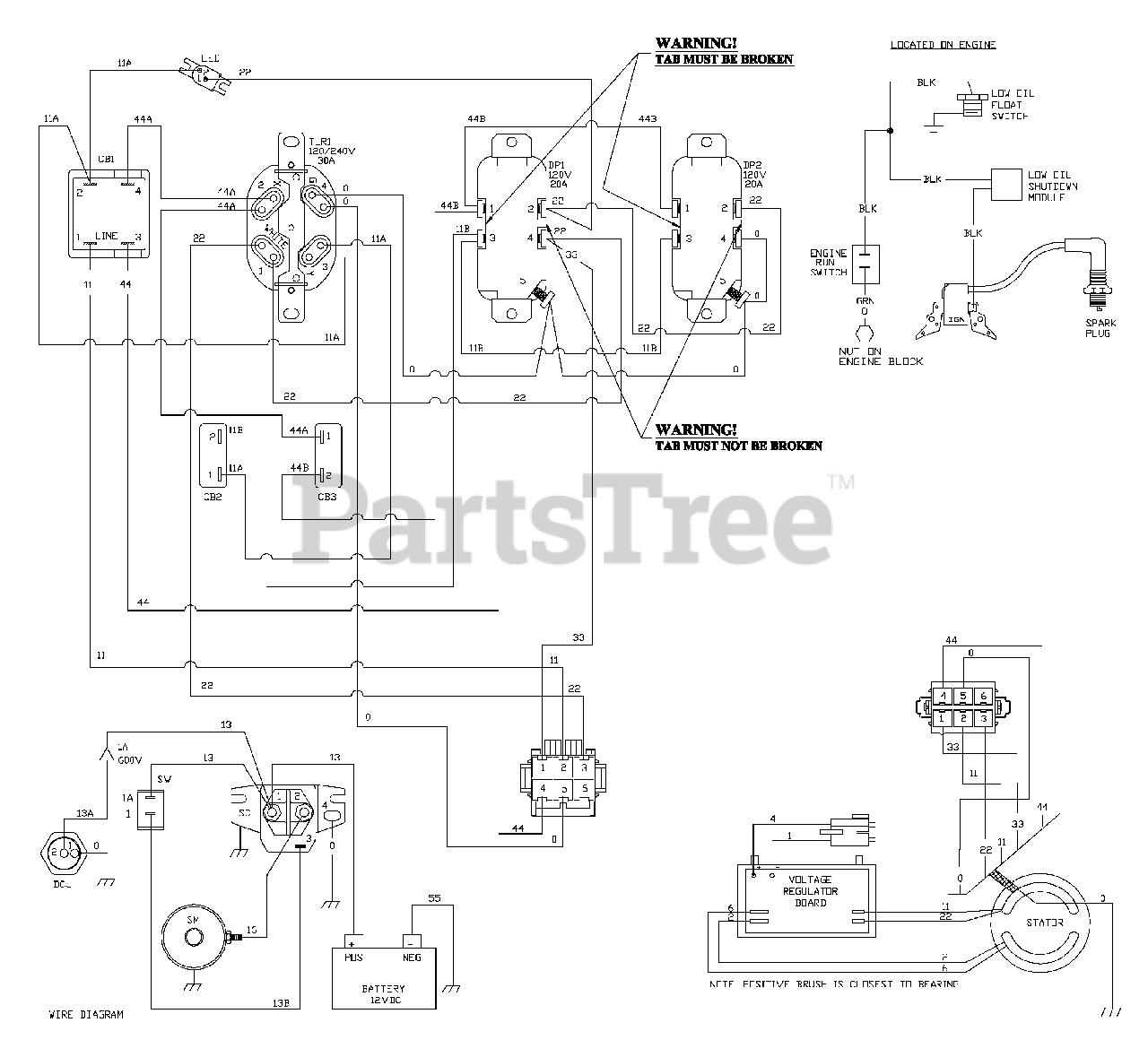 [DIAGRAM] Troy Bilt Generator Wiring Diagram FULL Version