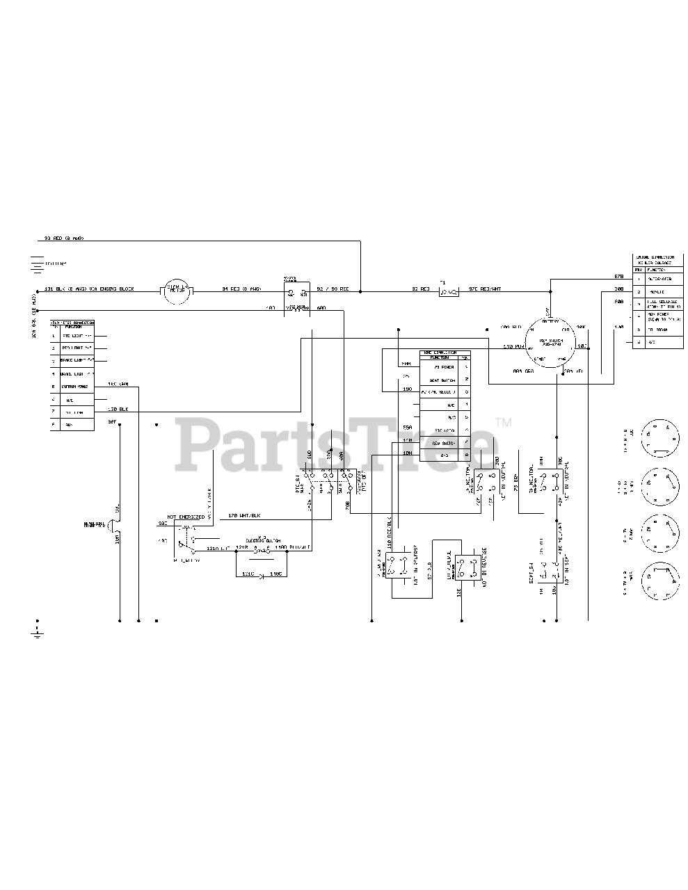 Cub Cadet Rzt 42 Wiring Diagram : CUB CADET SERVICE MANUAL