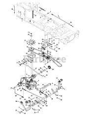 Cub Cadet parts and diagrams for Cub Cadet LTX 1045