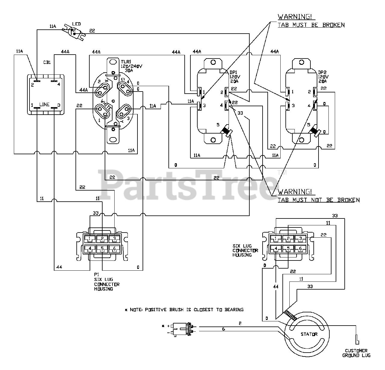 Troybuilt W Generator Wiring Diagram