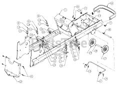 Cub Cadet parts and diagrams for Cub Cadet 2140 (134