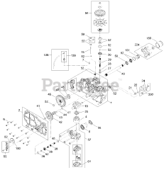 Exmark parts and diagrams for Exmark QSS725GKC42200