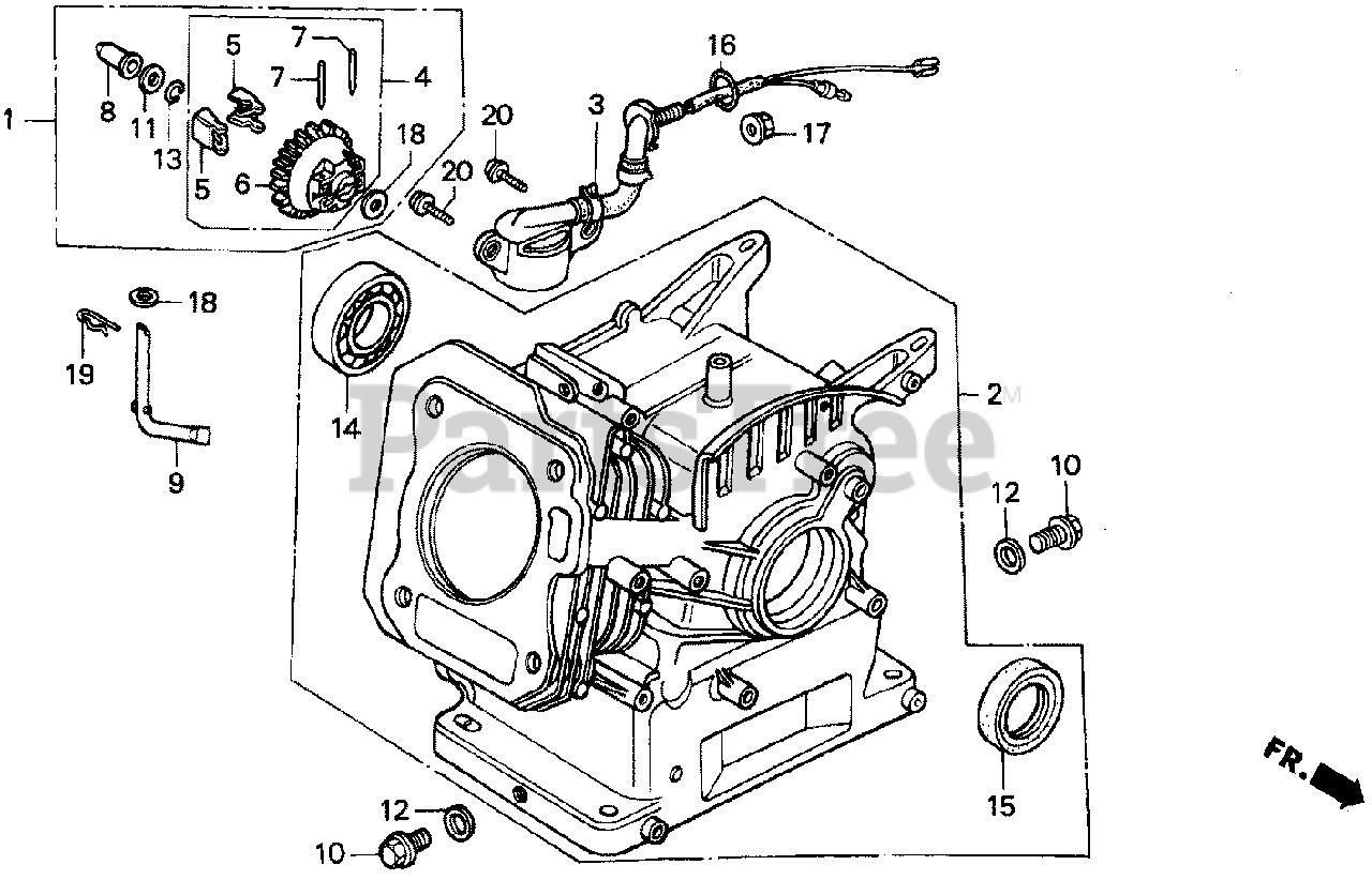 Honda Gx160 K1 Qx2 Gc02