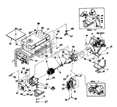 Generac parts and diagrams for Generac 3W953A (9540-2