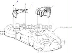 Cub Cadet parts and diagrams for Cub Cadet ZT1-50 KW FAB