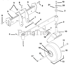 Ariens parts and diagrams for Ariens 915307 (EZR 1742