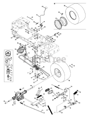 Craftsman parts and diagrams for Craftsman 247.288842