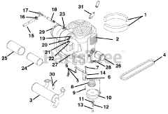 Gravely parts and diagrams for Gravely 992046 (PM 260Z