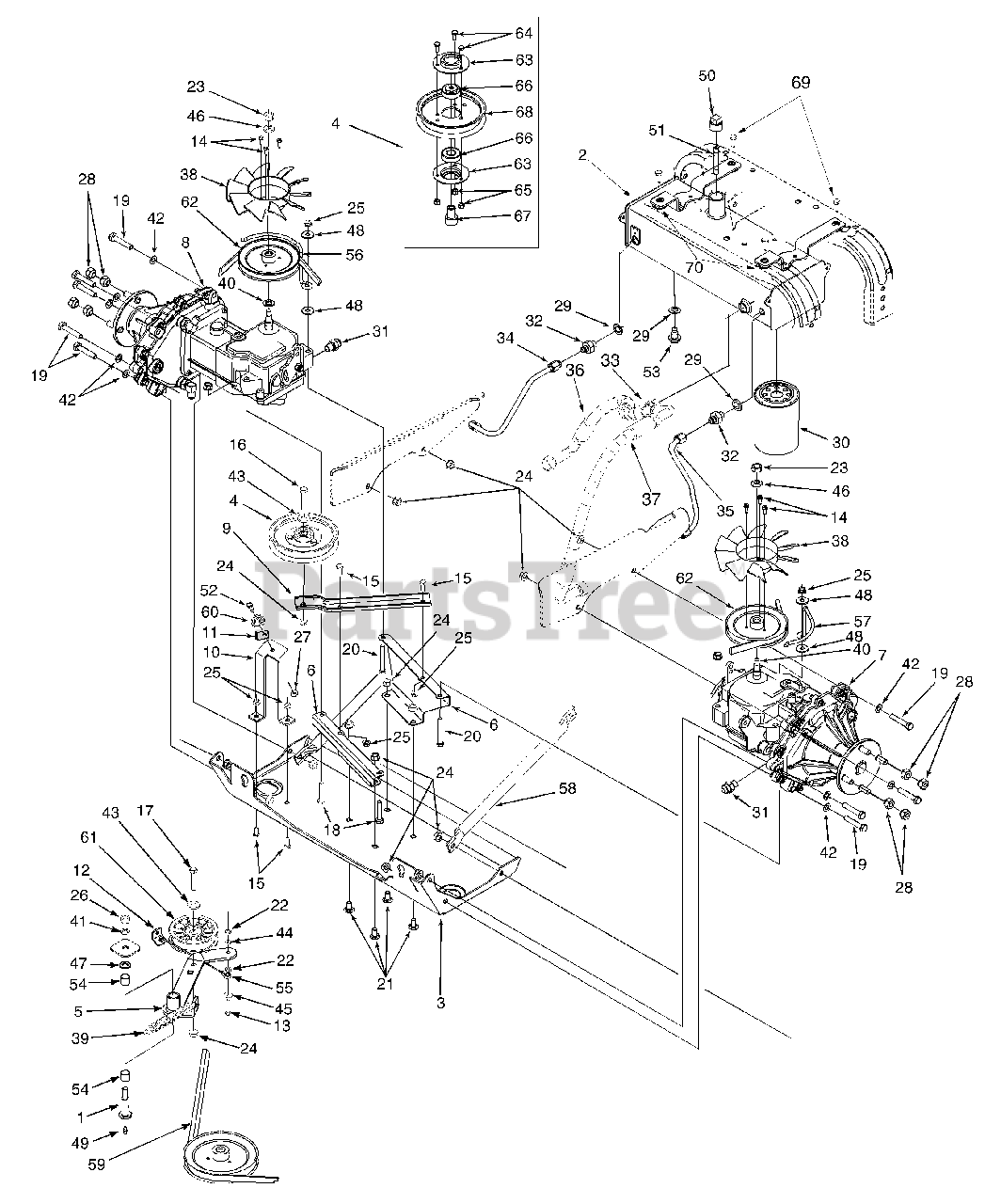 Cub Cadet 6 Prong Ignition Switch Wiring Diagram