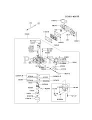 Kawasaki parts and diagrams for Kawasaki FX730V-CS16