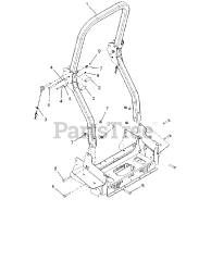 Gravely parts and diagrams for Gravely 992269 (Pro-Turn