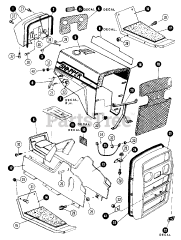 Snapper parts and diagrams for Snapper 1600 A (80124