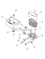 Cub Cadet parts and diagrams for Cub Cadet RZT-50