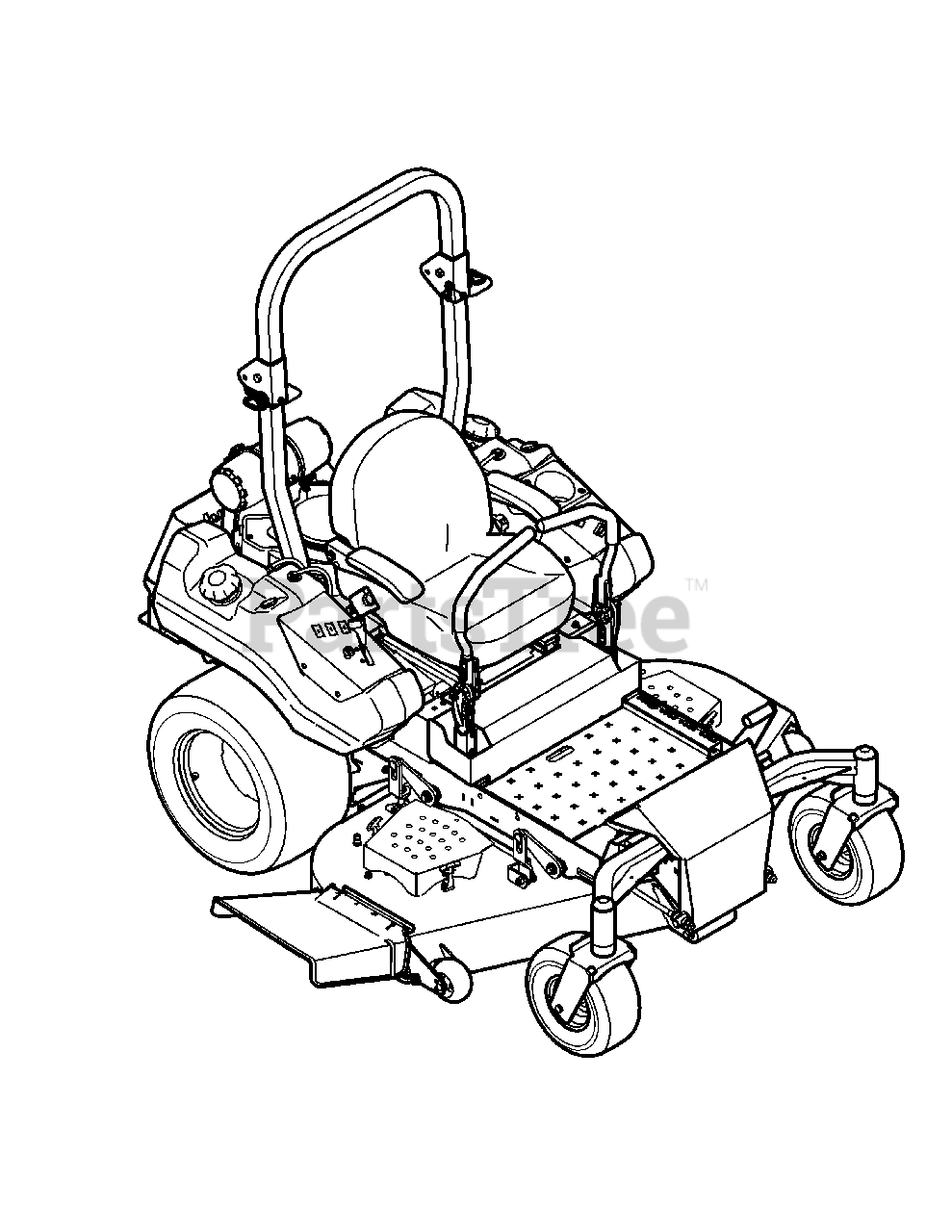 Cub Cadet Parts on the .Quick Reference LZ-60 Diagram for