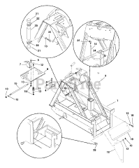 Gravely parts and diagrams for Gravely 950005 (200