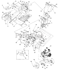 Craftsman parts and diagrams for Craftsman 247.775870 (24A
