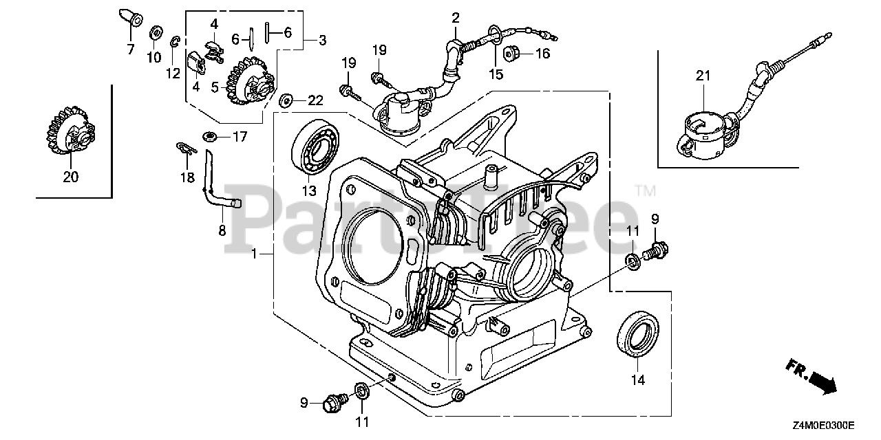 Qnr2 Honda Engine Wiring Diagram / Honda Gxv390 Wiring