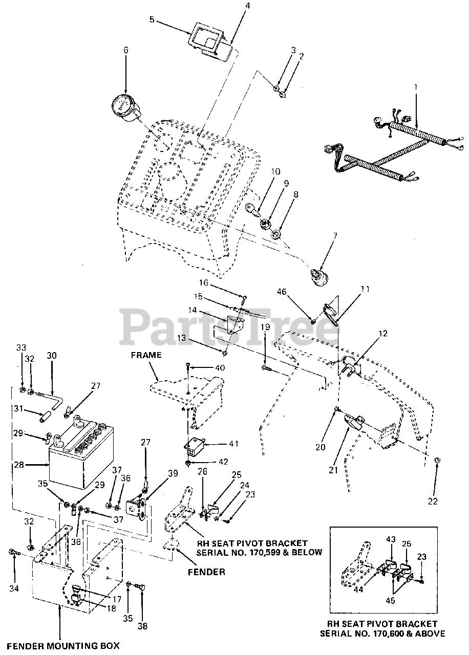 Cub Cadet Lt1045 Ignition Switch Wiring Diagram