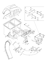 Cub Cadet parts and diagrams for Cub Cadet 19A30003100