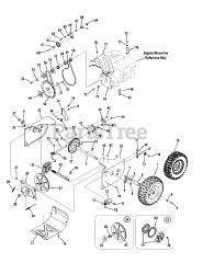 Troy-Bilt parts and diagrams for Troy-Bilt 2410