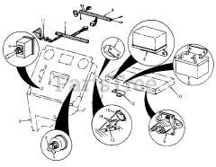 Cub Cadet parts and diagrams for Cub Cadet 1110 (135-293