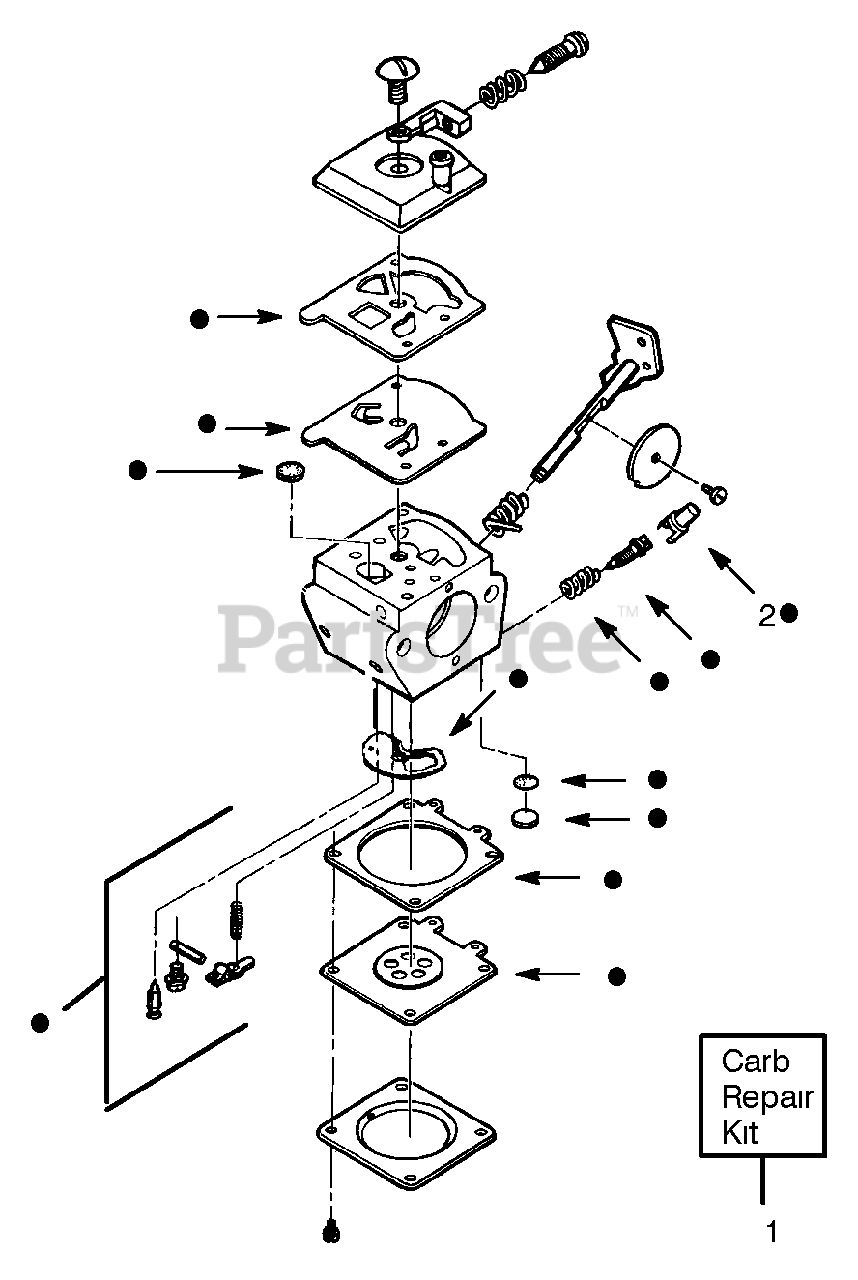 Wiring Database 2020: 29 Weed Eater Blower Parts Diagram