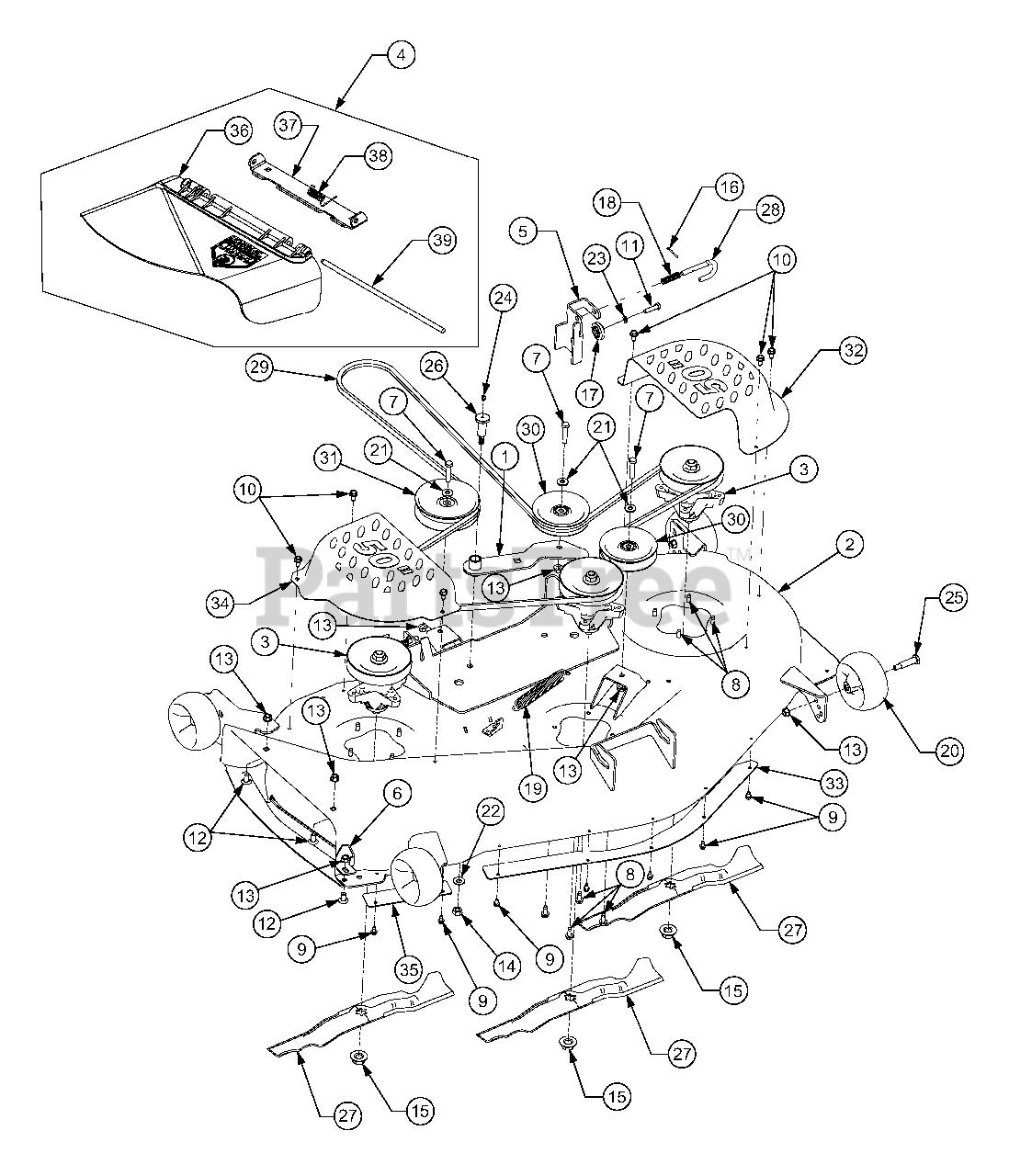 [DIAGRAM] Cub Cadet Zero Turn Rzt 22 Wiring Diagram FULL