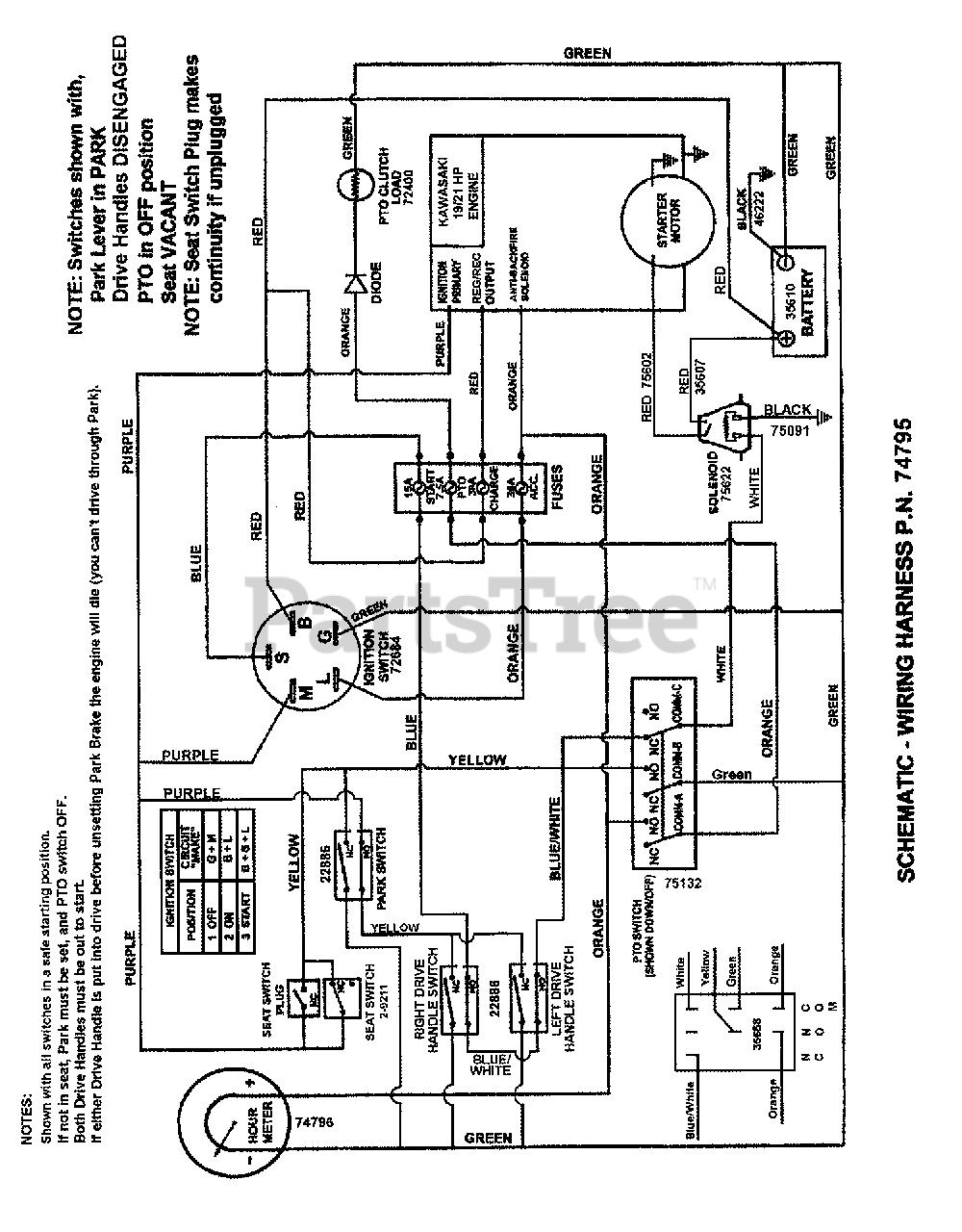 Wiring Manual PDF: 19 Hp Kawasaki Engine Wire Diagram