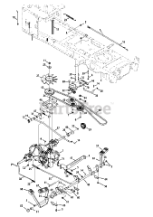 Cub Cadet parts and diagrams for Cub Cadet LTX 1046 M
