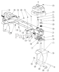 Cub Cadet parts and diagrams for Cub Cadet RZT-S42 KH