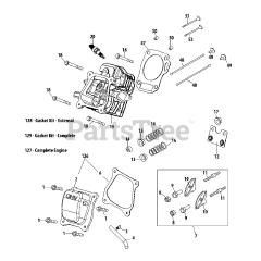 Cub Cadet parts and diagrams for Cub Cadet RT-65