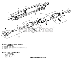 Allis-Chalmers parts and diagrams for Allis-Chalmers B-112