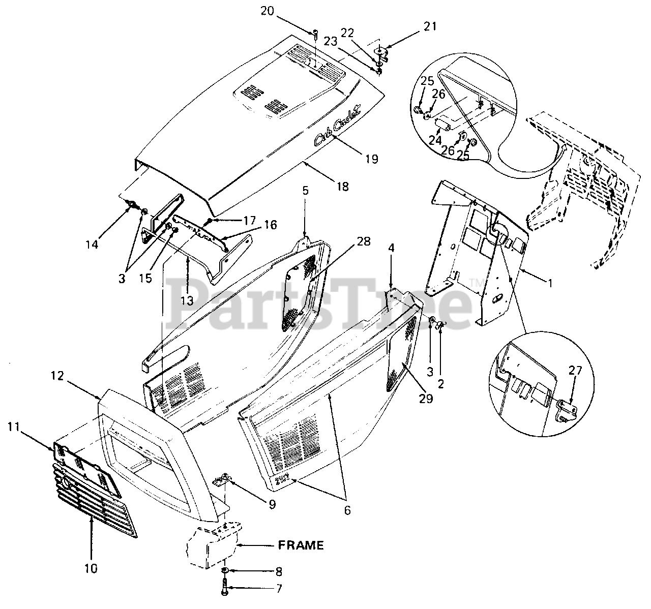 Cub Cadet Parts