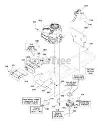 Snapper parts and diagrams for Snapper LT 24460 (2690946