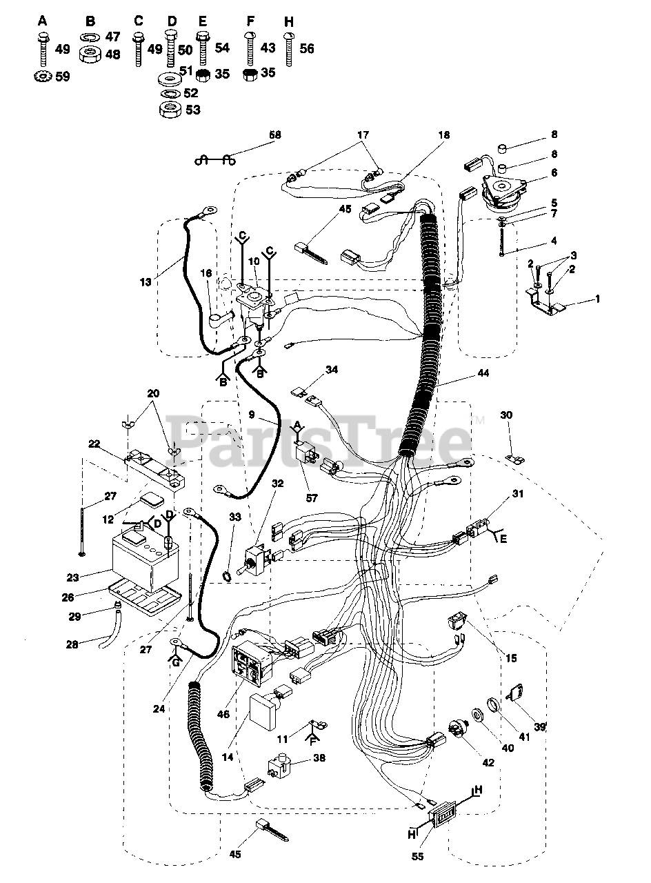 Wiring Diagram For Poulan Lawn Mower