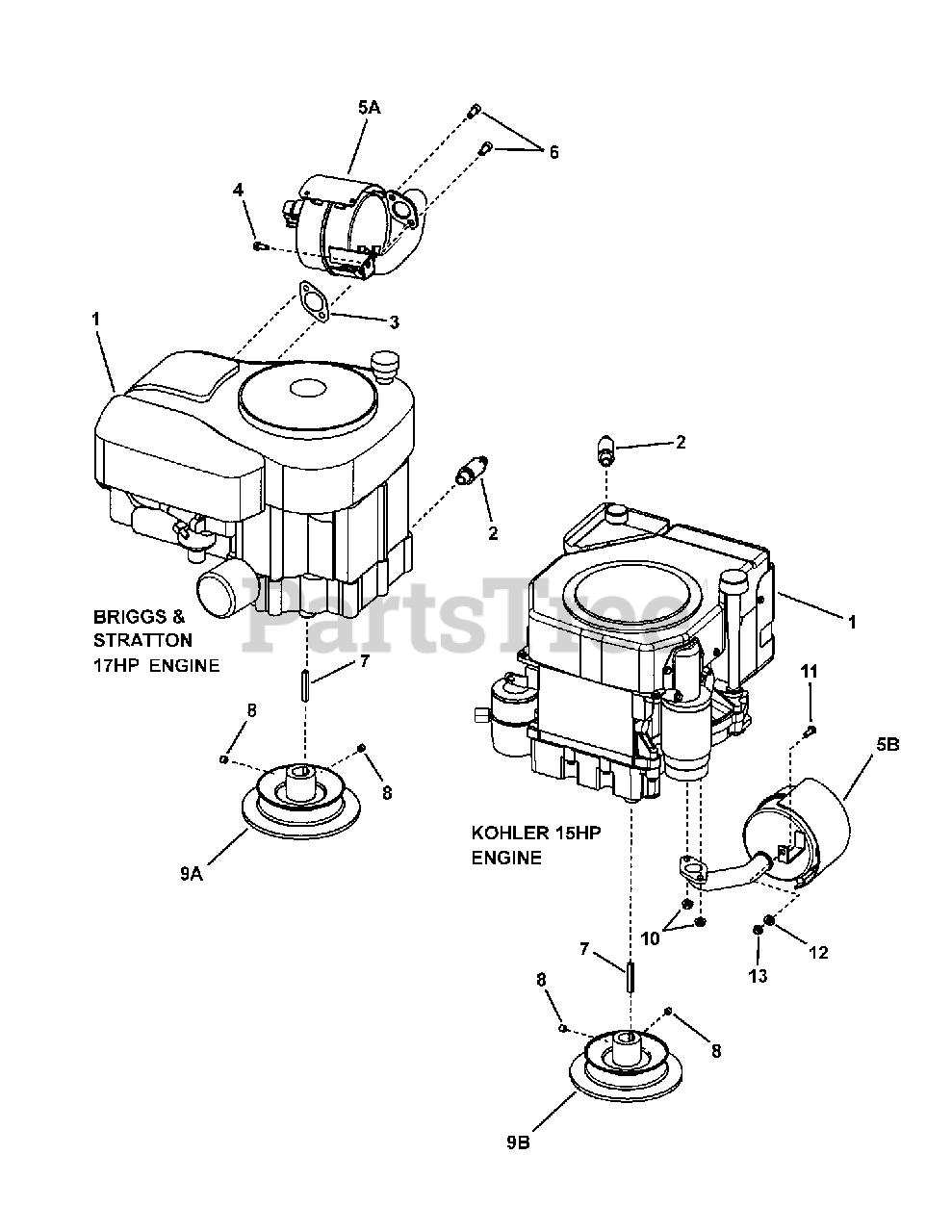 Wiring Diagram PDF: 11 Hp Briggs Stratton Engine Diagram