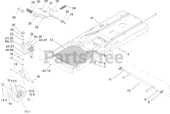 Lawn-Boy parts and diagrams for Lawn-Boy 81250 (Z 350 HLX