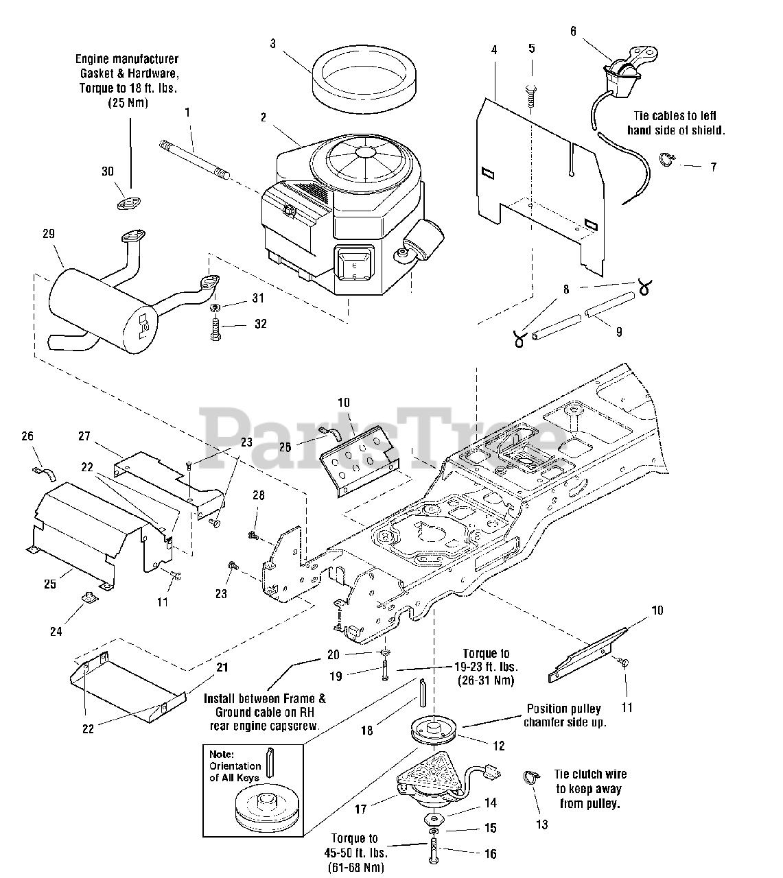 18 hp briggs and stratton engine diagram