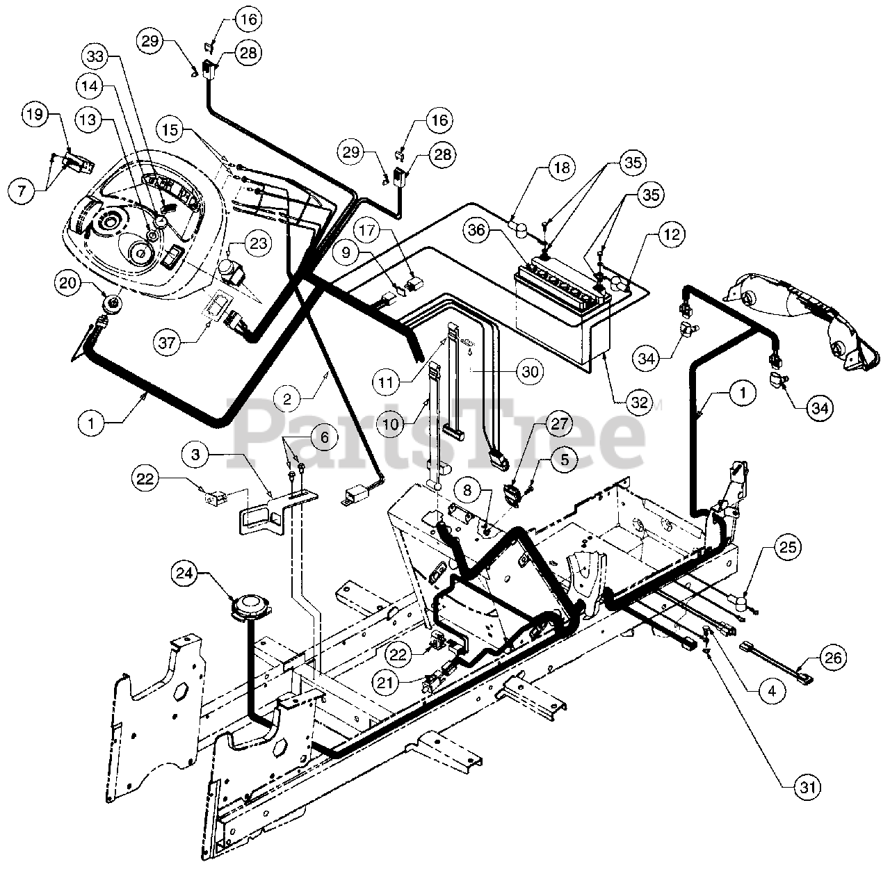 Cub Cadet 2130 Wiring Diagram Database