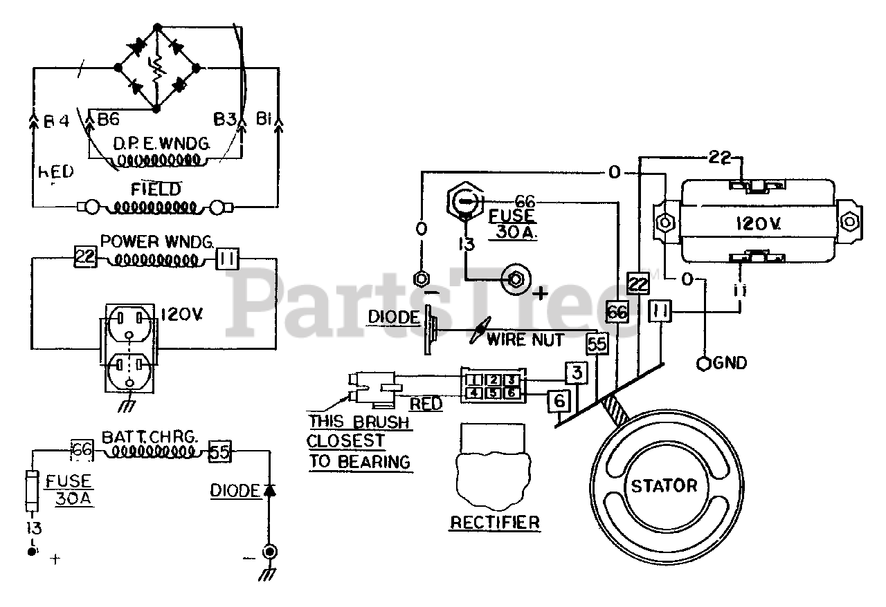 Wiring Diagram For Craftsman Generator