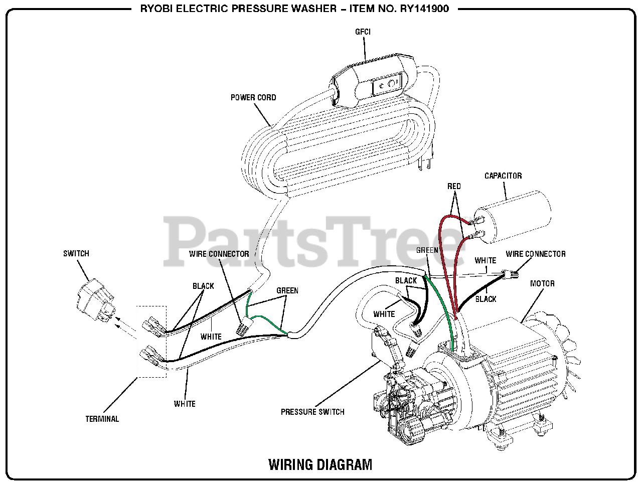 Power Washer Wiring Diagram