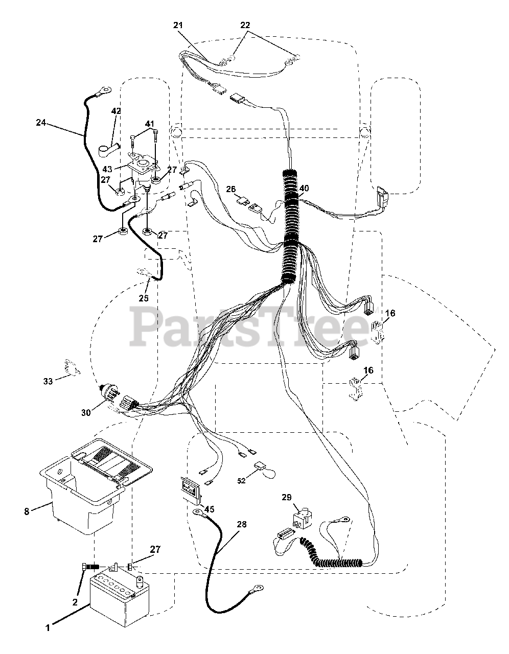 Wiring Diagram For Poulan Lawn Mower